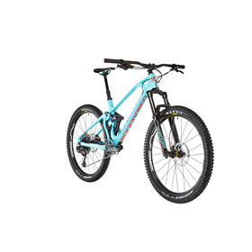 Mondraker Foxy Carbon R 27.5 Light Blue/Navy/Orange